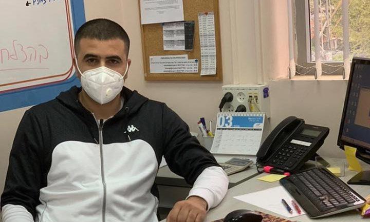 الممرض عبدالله صرصور يعلن اصابته بكورونا