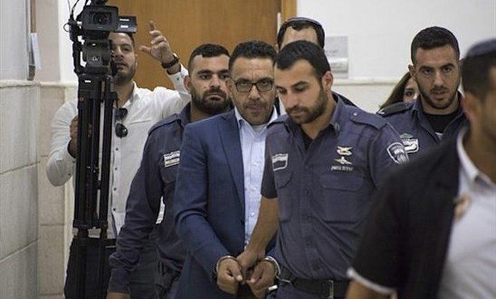 محكمة الاحتلال تمدد اعتقال محافظ القدس عدنان غيث