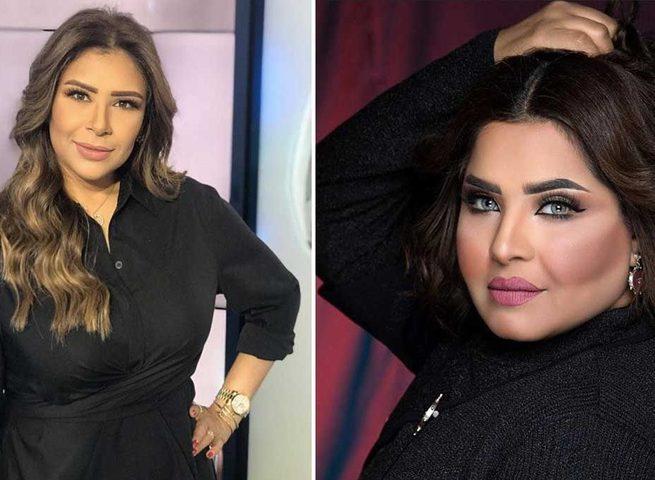 الفنانة هيا الشعيبي تهاجم المذيعة سارة دندراوي