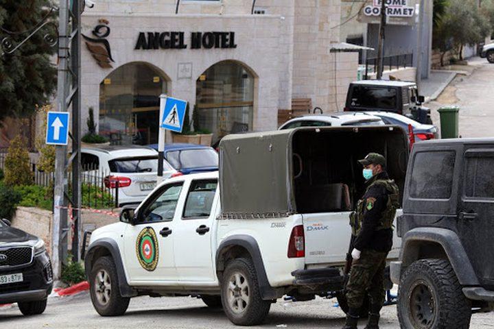 حجز 25 مركبة والقبض على 30 شخصًا خرجوا في حالة الطوارىء برام الله