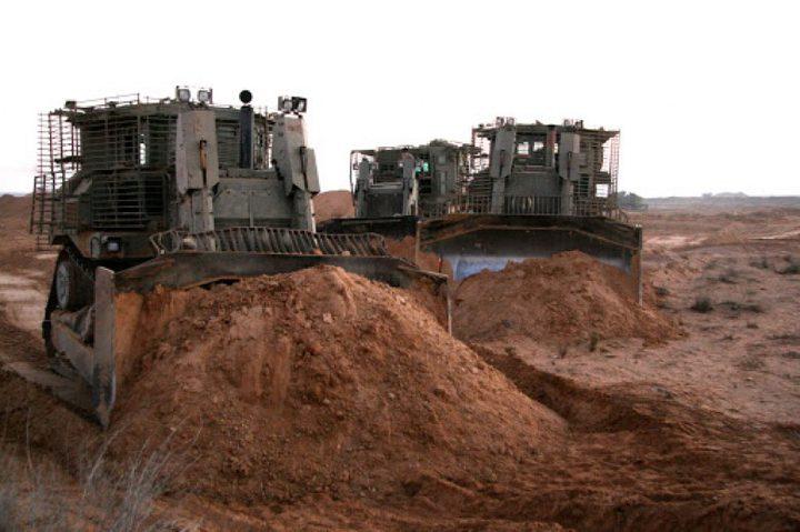 الاحتلال يتوغل شمال غزةويطلقالنار تجاه المزارعين بالجنوب