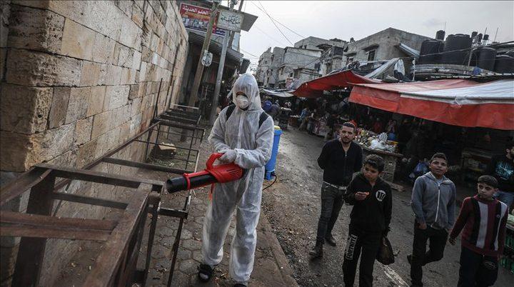 مركز حقوقي يحذر من تفشي كورونا في غزة