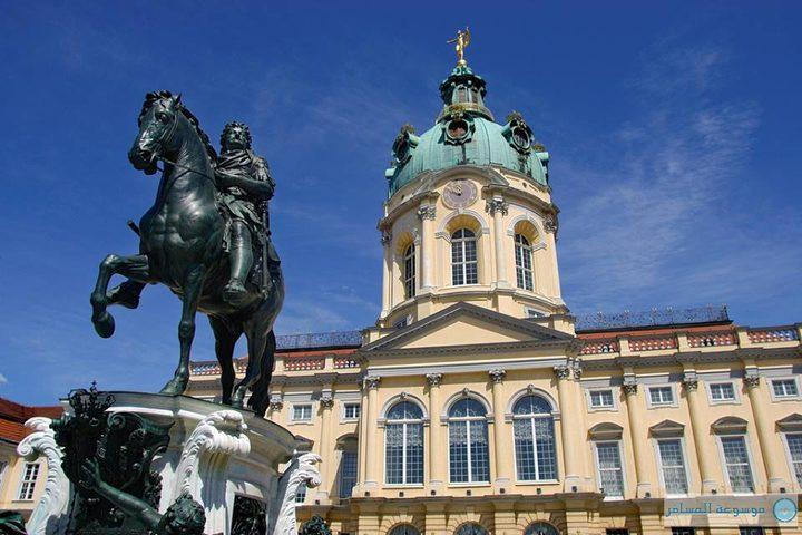 اندلاع حريق في قصر المدينة وسط العاصمة الألمانية