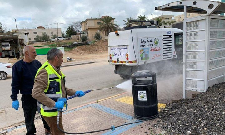 النقب.. افتتاح مقر الطوارئ القطري لمواجهة أزمة كورونا