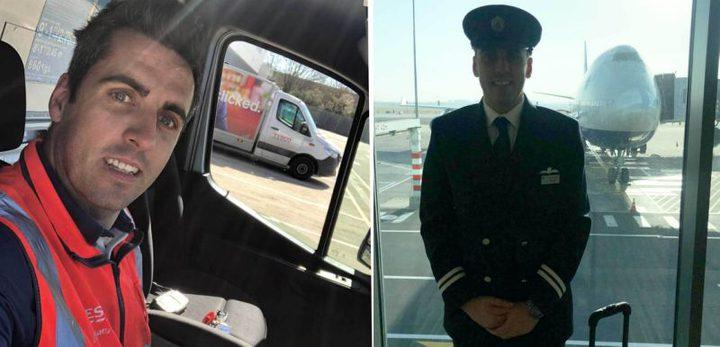 بريطانيا.. كورونا يحول قائد طائرات مدنية إلى عامل توصيل