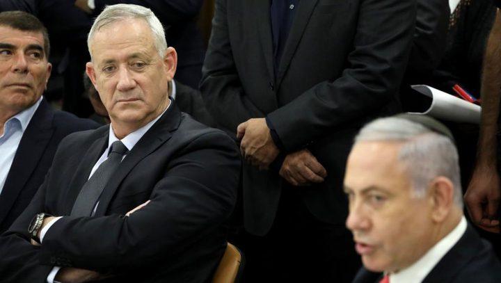 استطلاع: نتنياهو يتجه لتشكيل حكومة بدون غانتس