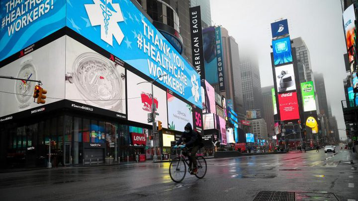 أميركا تسجل 402471 إصابة بفيروس كورونا و 12914حالة وفاة