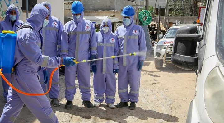 أطباء من غزة يتدربون في اسرائيل على مواجهة كورونا وتم تطبيقها