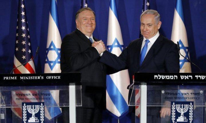نتنياهو وبومبيو يناقشان أزمة كورونا وقضية إيران