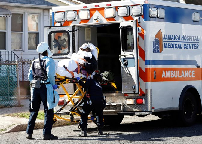 الولايات المتحدة تسجل أعلى حصيلة وفيات بكورونا وتتخطى إيطاليا