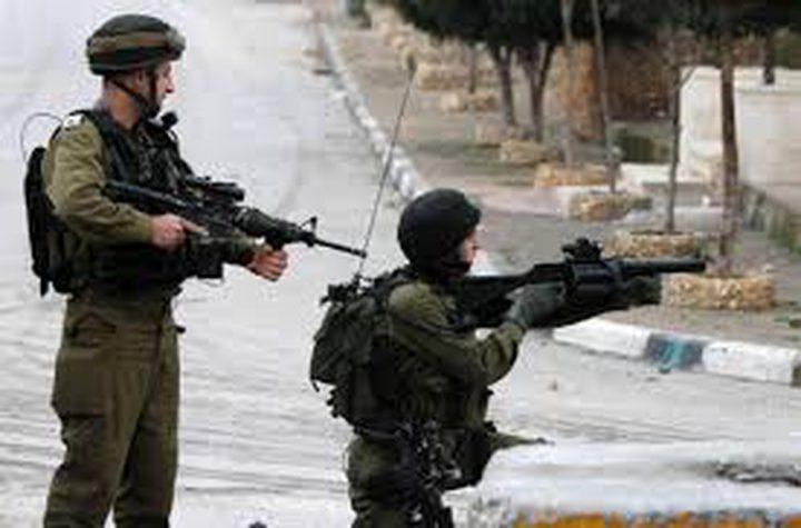 إصابة برصاص الاحتلال شمال قلقيلية