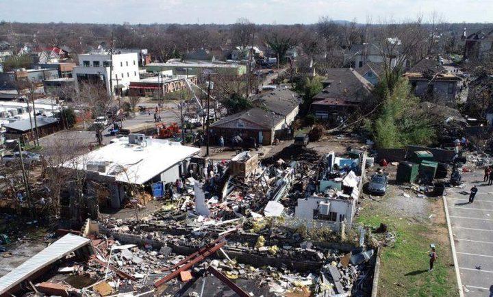أعاصير الجنوب الأمريكي تقتل ما لا يقل عن 26 شخصًا