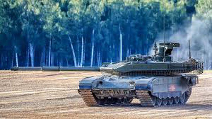 الجيش الروسي يتسلم دبابات تتبادل المعلومات مع غيرها اونلاين