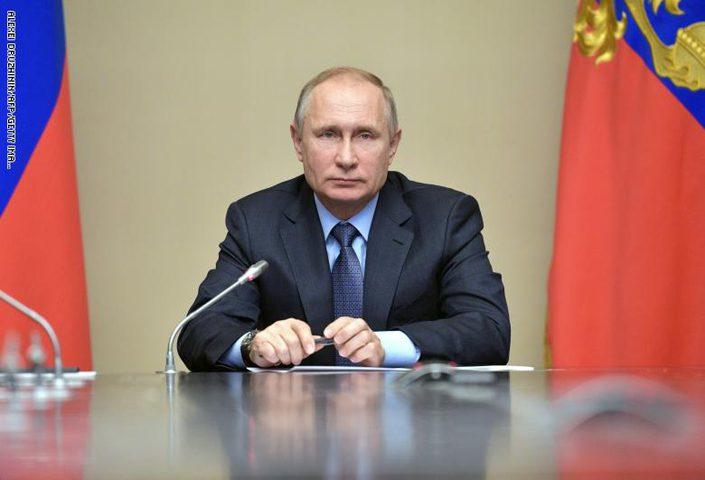 """الرئيس الروسي  يدعو لاتخاذ إجراءات استثنائية """"كورونا"""""""