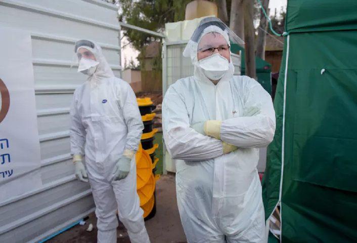 ارتفاع عدد وفيات فيروس كورونا في دولة الاحتلال إلى 117
