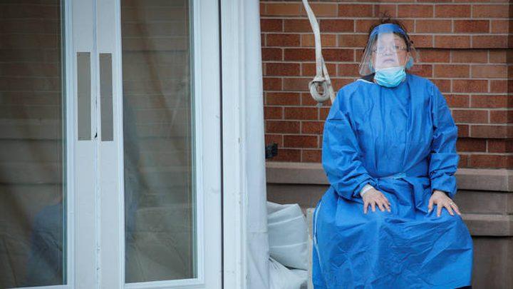 أعلى حصيلة وفيات يومية بفيروس كورونا بأمريكا