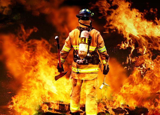 كورونا يغير حياة رجل إطفاء لدقائق معدودة فقط !