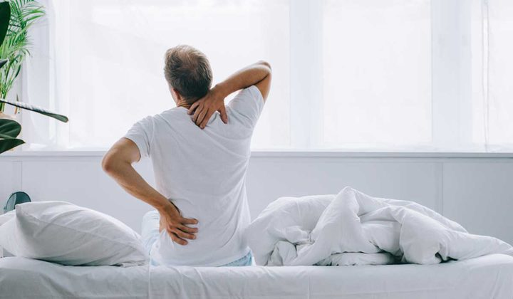 طرق بسيطة لتخفيف الضغط عن ظهرك
