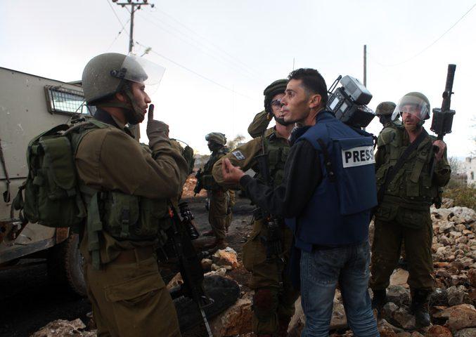 13 صحفيا اسيرا بينهم صحفيتيين في سجون الاحتلال