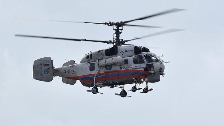 فرق الإطفاء والإسعاف في موسكو تتزود بمروحيات مطورة