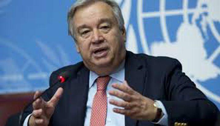 غوتيريس: على جميع الحكومات الإيفاء بإلتزاماتها لحماية شعوبها