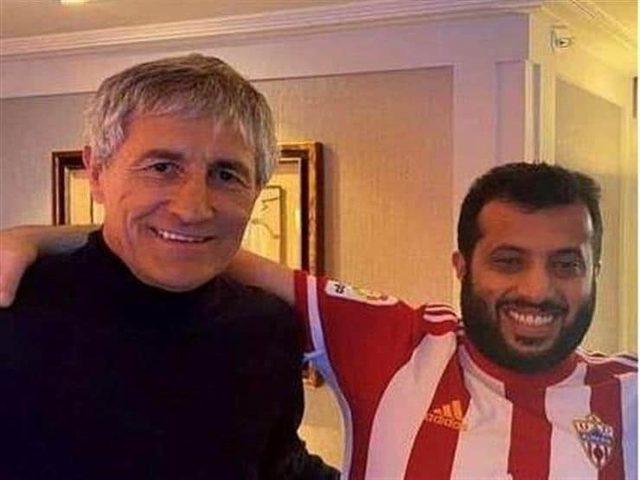 آل الشيخ يكشف كواليس مفاوضاته مع مدرب برشلونة لتدريب فريق مصري