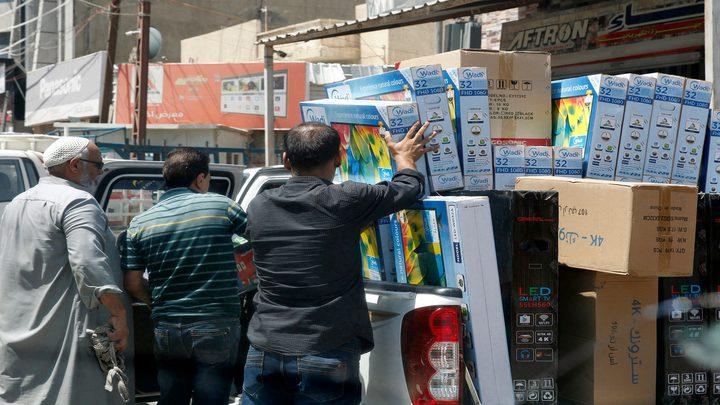 مصادرة مواد غذائية فاسدة في محافظة نابلس
