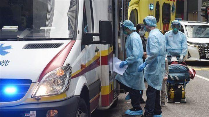 تسجيل 596 وفاة جديدة ناجمة عن فيروس كورونا في بريطانيا