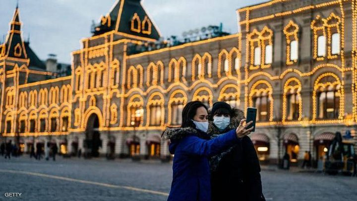 """تسجيل 4268 إصابة و44 وفاة جديدة بـ""""كورونا"""" في روسيا"""