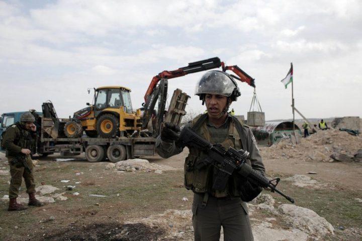 سلطات الاحتلال تخطر بوقف العمل في مسجد بالأغوار الشمالية