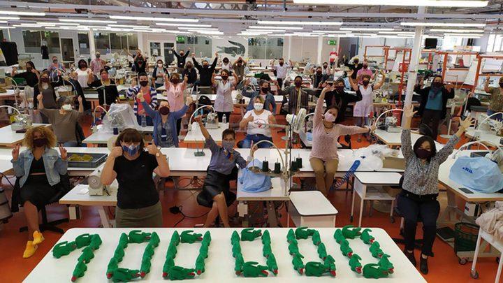 LACOSTE تنتج مئة ألف قناع واق من الكورونا