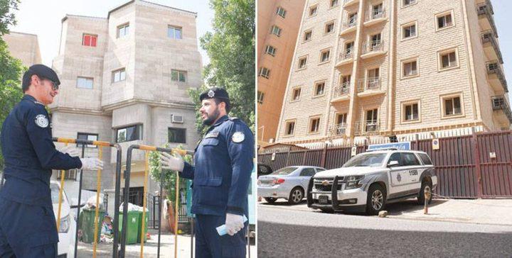 عزل 3 عمارات بالكويت بعد اكتشاف 200 اصابة بفيروس كورونا