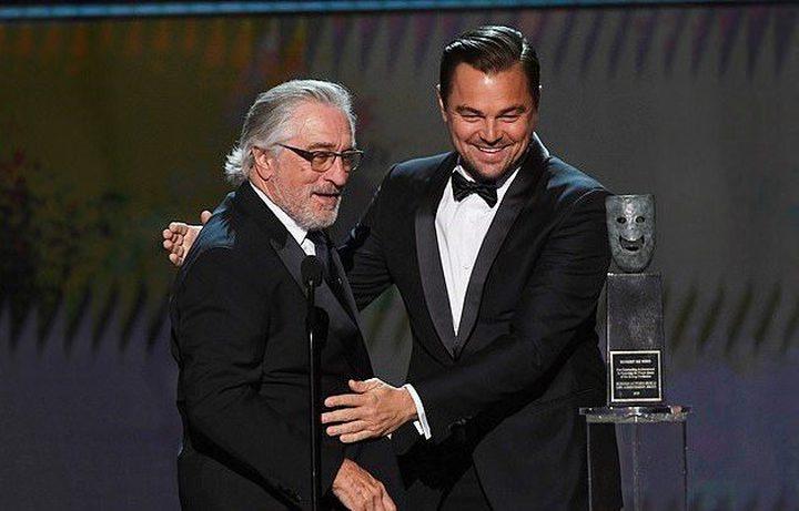"""""""ليوناردو"""" و""""دي نيرو"""" يطلقان مسابقة للتحفيز على التبرع"""