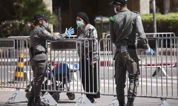شرطة الاحتلال تحرر أكثر من 44 ألف مخالفة لخرق قوانين كورونا
