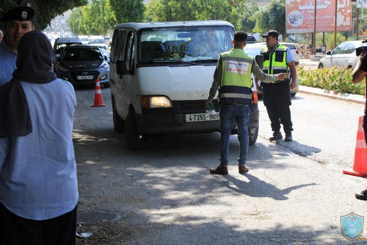 الشرطة تغلق 90 محلا تجارياً لعدم الإلتزام بحالة الطوارئ بجنين