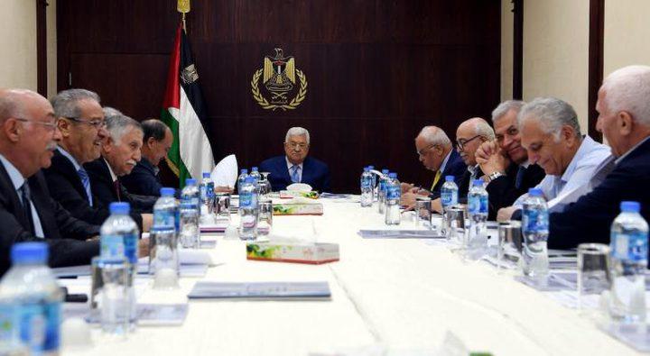 اللجنة التنفيذية تثمن قرارات الرئيس لمواجهة فيروس كورونا