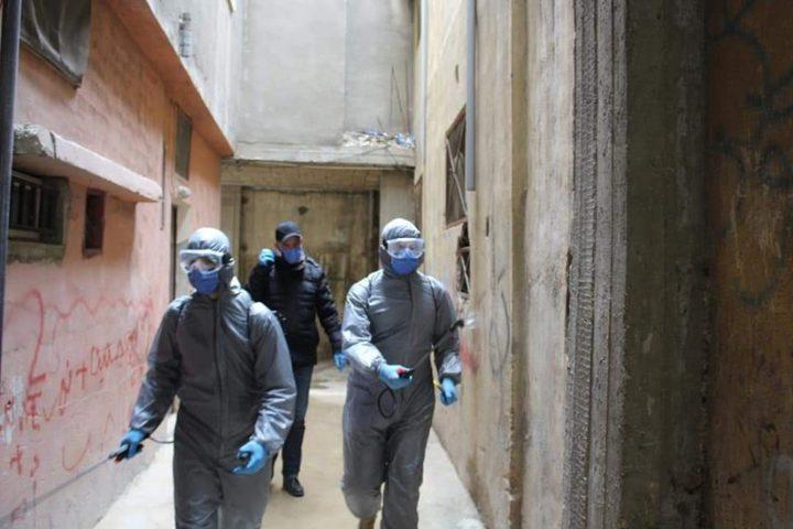 لبنان يسجل أول إصابة بفيروس كورونا داخل مخيم للاجئين الفلسطينيين
