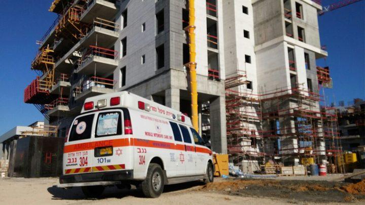 مصرع عامل سقط خلال عمله في ورشة بناء