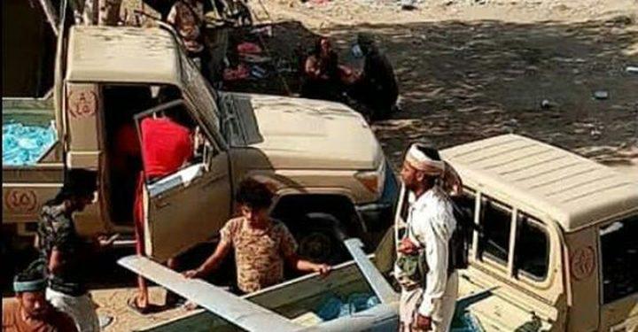 القوات اليمنية تسقط طائرة تابعة للـحوثيين
