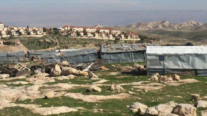 الاحتلال يستولي على كرفان غرب أريحا