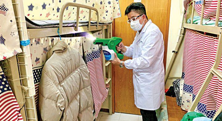 تطوير مادة معقمة تحمي من الفيروسات لمدة 90 يوما