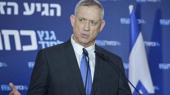 غانتس: يجب استعادة جنودنا المحتجزين لدى حماس