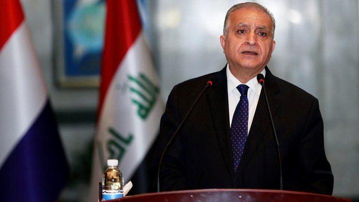 الخارجية العراقية: عدوانية إسرائيل تهدف لتسويف حقوق الفلسطينين