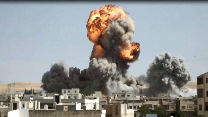 حريق يتسبب بانفجار لغم أرضي في عدرا بريف دمشق