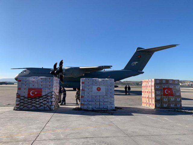 الخارجية :شحنة التبرعات الطبية التركية لشعبنا ستصل هذه الليلة