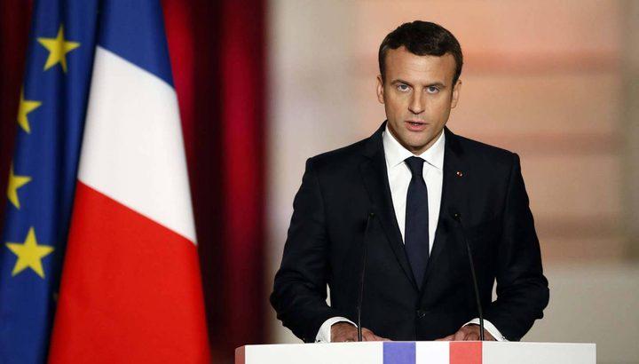 الرئيس الفرنسي: تخفيف اجراءات العزل لا يعني عودة الحياة لطبيعتها