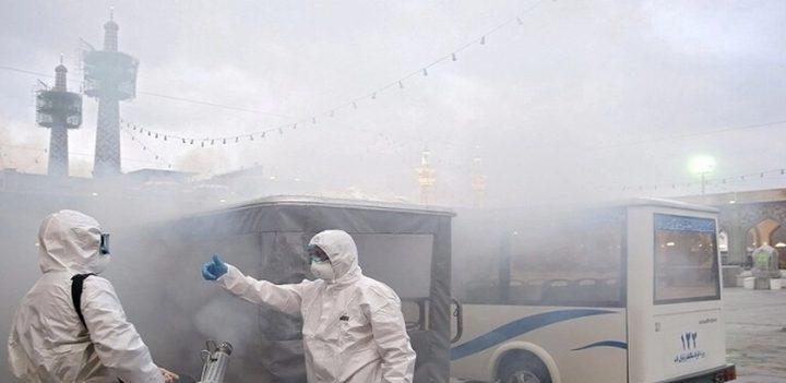 العاصمة الايرانية تلزم المواطنين بارتداء الكمامات في وسائل النقل