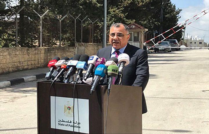 ملحم: تم رفع التوصيات للرئيس محمود عباس بخصوص حالة الطوارئ