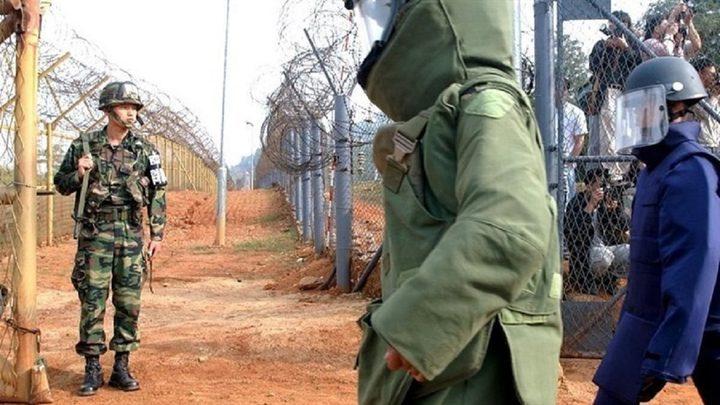 الكوريتان تتبادلان اطلاق النار دون وقوع اصابات