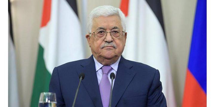 الرئيس:سنحل جميع الاتفاقيات في حال أقدم الاحتلال على اجراء الضم
